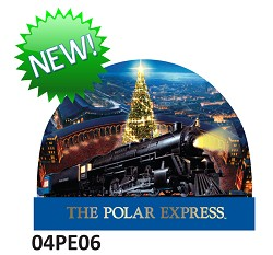 Polar Express Snow globe - North Pole,04PE06