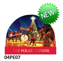 Polar Express Snow globe - Elf