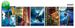 Polar Express Iconic Movie Scene Magnets,05/PE07