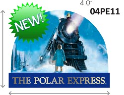 Polar Express Snowglobe - Train Magnet