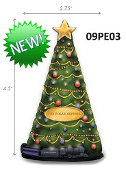 The Polar Express Christmas Tree Ornament,09PE03