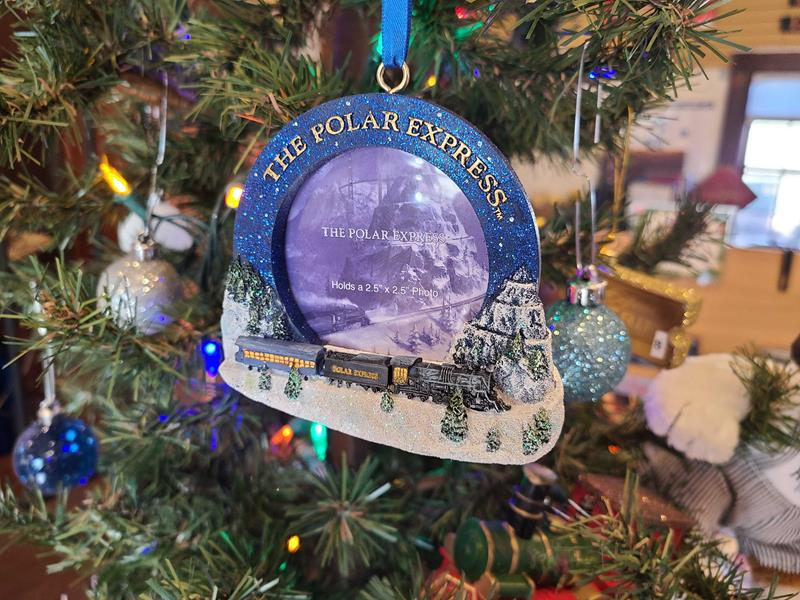 Polar Express Frame Ornament - Colorado Railroad Museum Depot ...