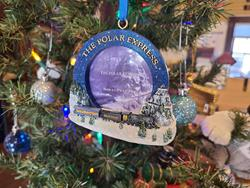Polar Express Frame Ornament,UC120138