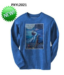"Polar Express ""I've Been to the North Pole"" Youth Shirt Large"