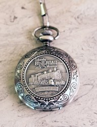 Colorado Railroad Museum Pocket Watch