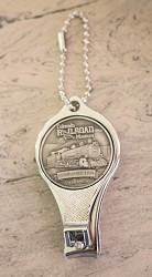 Colorado Railroad Museum Nail Clipper/ Bottle Opener