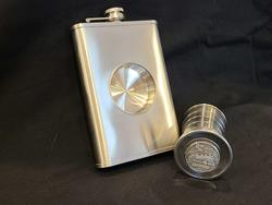 Colorado Railroad Museum 8oz. Flask w/ Shot