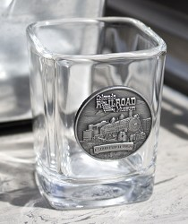 Colorado Railroad Museum 2.25oz Square Shot Glass,717