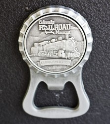 Colorado Railroad Museum Magnet Bottle Opener,748