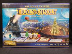 The Polar Express Train-Opoly Collector's Edition Board Game