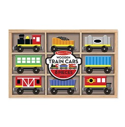 Wooden Train Cars,5186