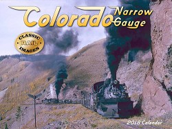 2018 Calendar - Colorado Narrow Gauge
