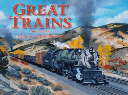 2018 Calendar - Great Trains - Paintings by Gil Bennett