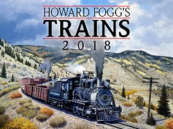 2018 Calendar - Howard Fogg's Trains