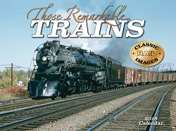 2018 Calendar Those Remarkable Trains