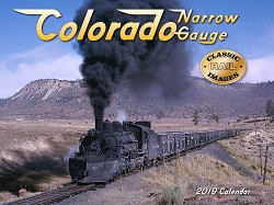2019 Calendar - Colorado Narrow Gauge