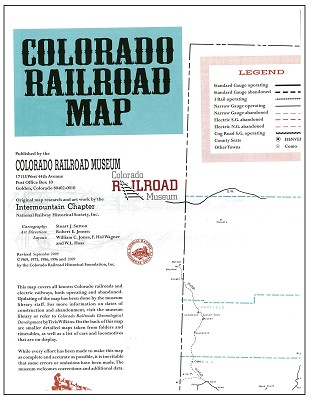 Colorado Railroad Map,COOR