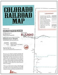 Colorado Railroad Map