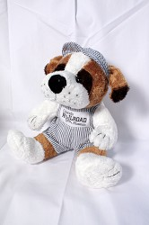 "Spike the Railroad Dog - 9"" Plush,GT9/SB"