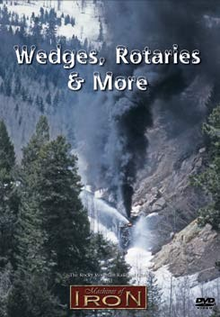 Wedges, Rotaries & More - Machines of Iron DVD,WR&M/DR