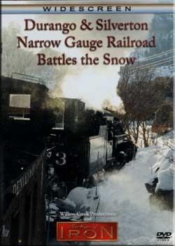 Durango & Silverton Narrow Gauge Railroad Battles the Snow,FLANGER/DR
