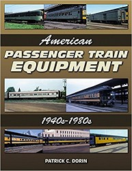American Passenger Train Equipment 1940s-1980s,10354