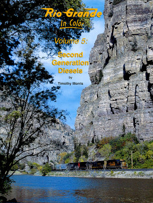 Rio Grande In Color Volume 5 - Second Generation Diesels,1372
