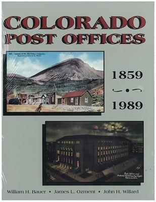 Colorado Post Offices 1859-1989,COOR