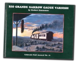 CRA No. 25 - Narrow Gauge Varnish,COOR