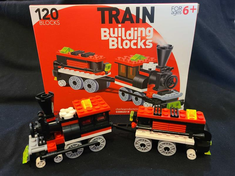 Connecting BlockTrain 120pc Set,03/8826