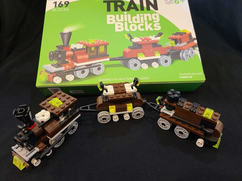 Connecting BlockTrain 169pc Set,03/8827