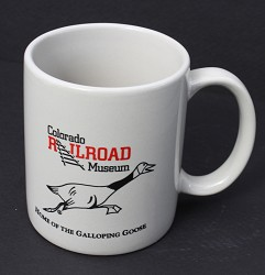 Home of the Galloping Goose Gray Coffee Mug