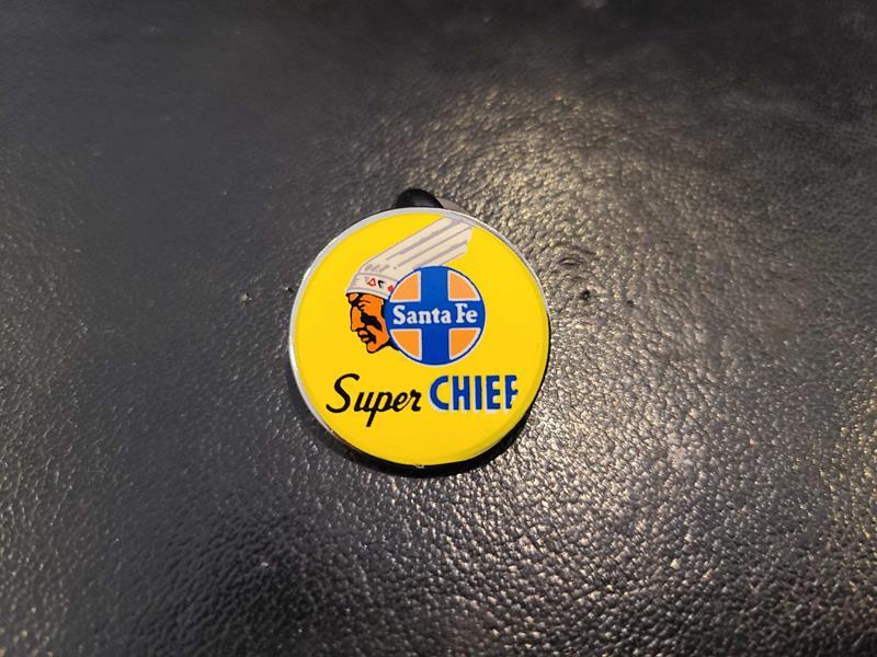 Super Chief Drumhead Pin,SCH