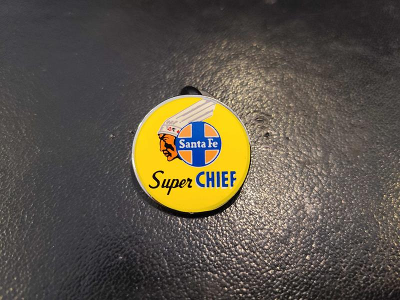 Super Chief Drumhead Pin,SCH