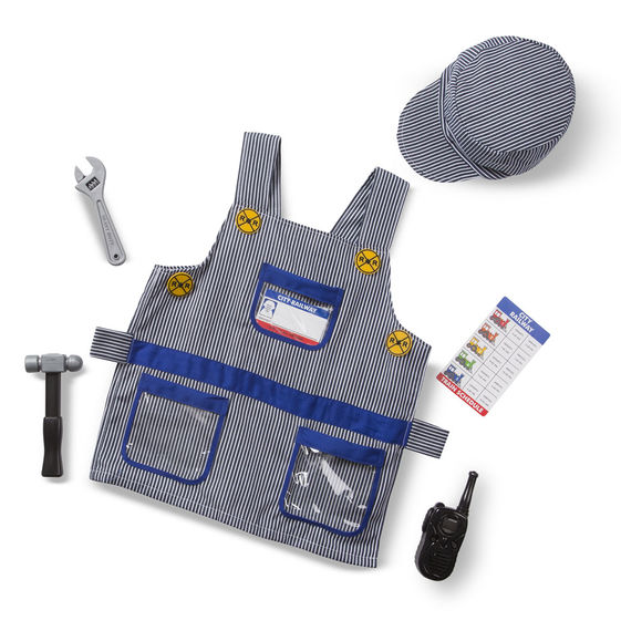 Train Engineer Role Play Set,4836