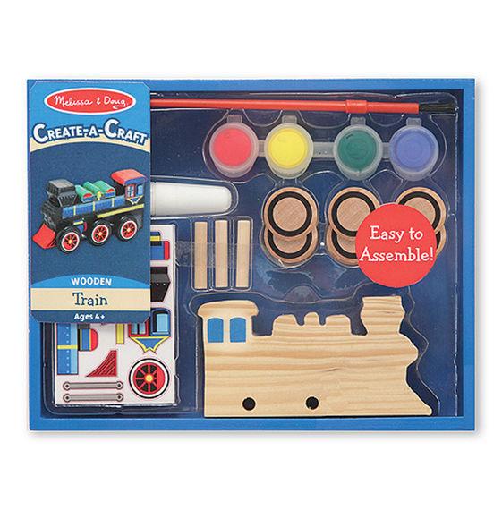 Create-a-Craft Wooden Train,4576