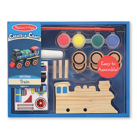 Create-a-Craft Wooden Train,4576