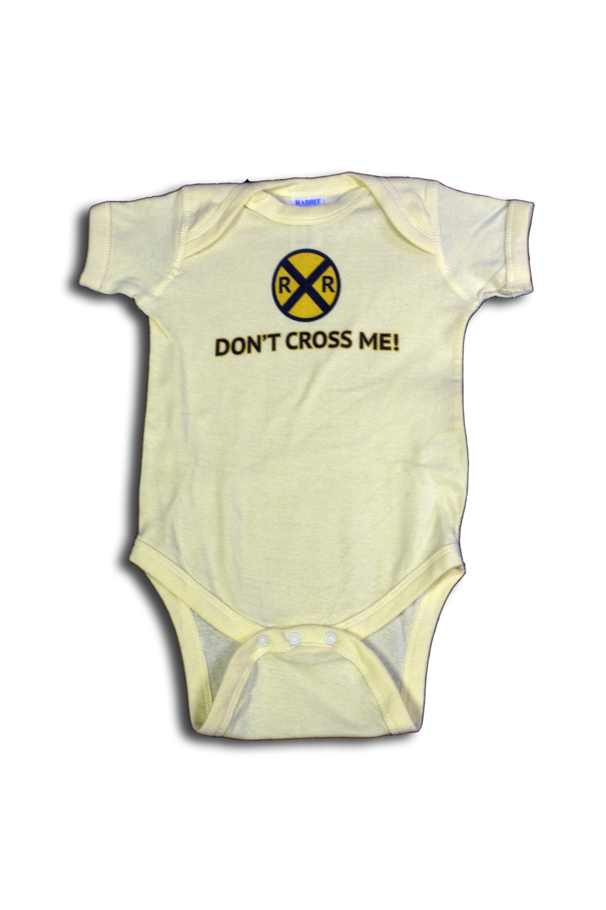 Don't Cross Me Onesie