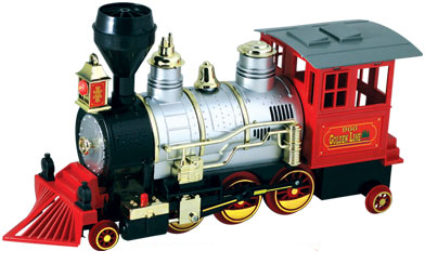 Classic Rocky Mountain Bump & Go Locomotive,WT-TRBG