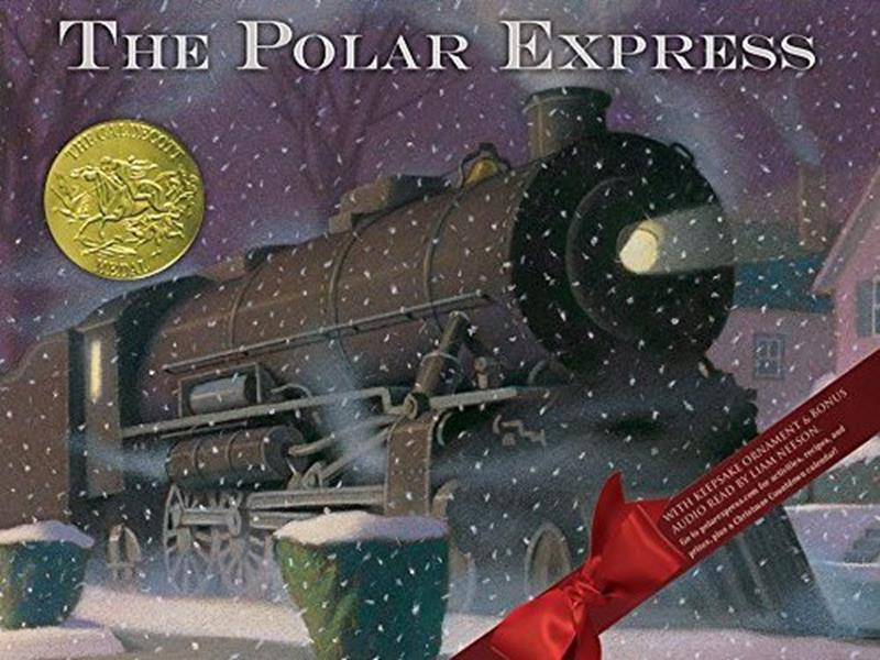 The Polar Express (Book, Audio & Ornament)