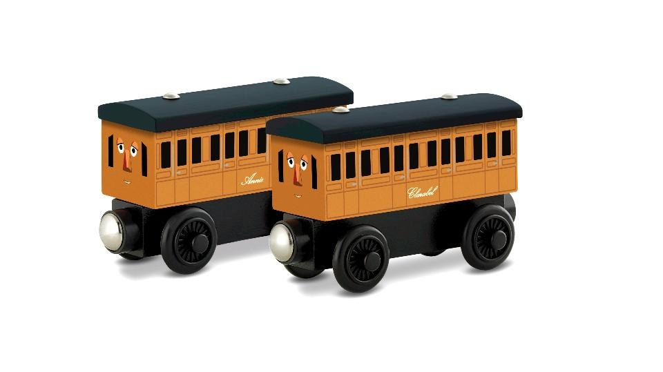 Annie & Clarabel Thomas & Friends Wooden Railway,GGH17