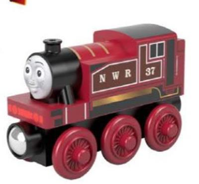 Rosie Thomas & Friends Wooden Railway,GGG34