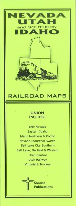 Pocket RR Map: Nevada/Utah