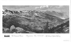 "Continental Divide-Hagerman Pass-The Colorado Midland Pass 41"" X 24"""