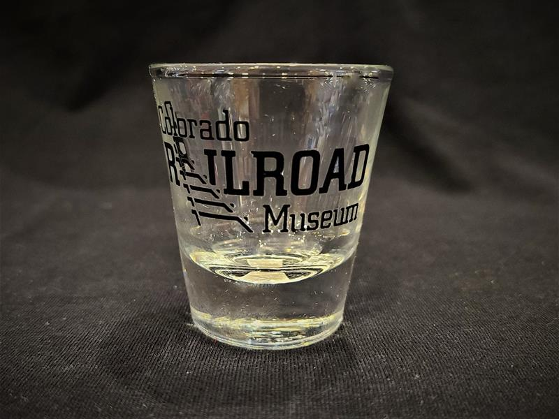 Clear Shot Glass w/ Logo
