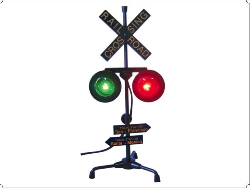 Railroad Crossing Lamp,03-4750