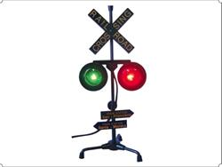 Railroad Crossing Lamp