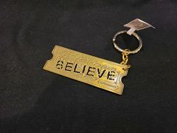 "Polar Express ""Believe"" Keychain"