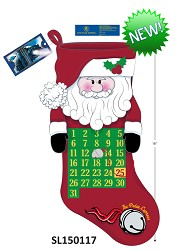 The Polar Express Santa Calendar Stocking