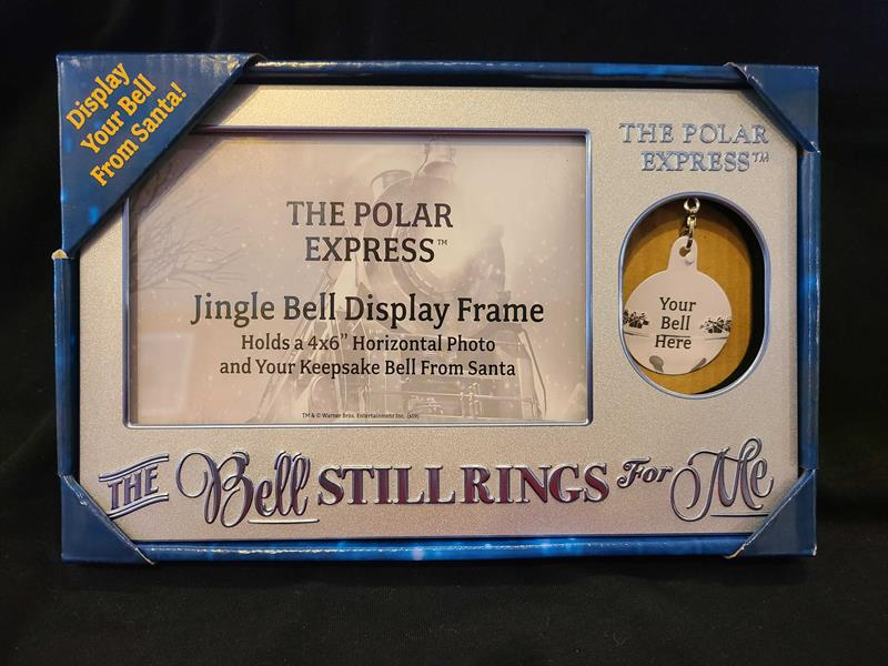 The Polar Express Jingle Bell Display Frame - Colorado Railroad ...